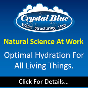 Crystal Blue Water Structuring Units
