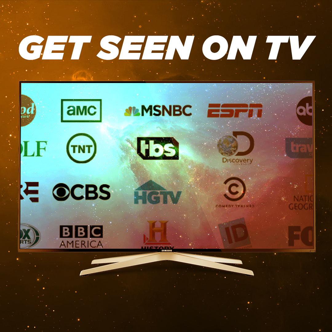Get Seen on TV Square2