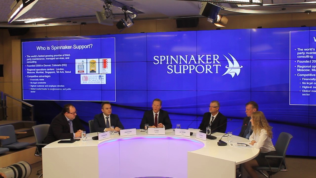 Spinnaker Support - third party software support and managed services