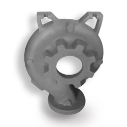 Cast Iron Machined End Suction Pump Casing Casting 2