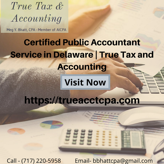 Certified Public Accountant Service in Delaware _ True Tax and Accounting