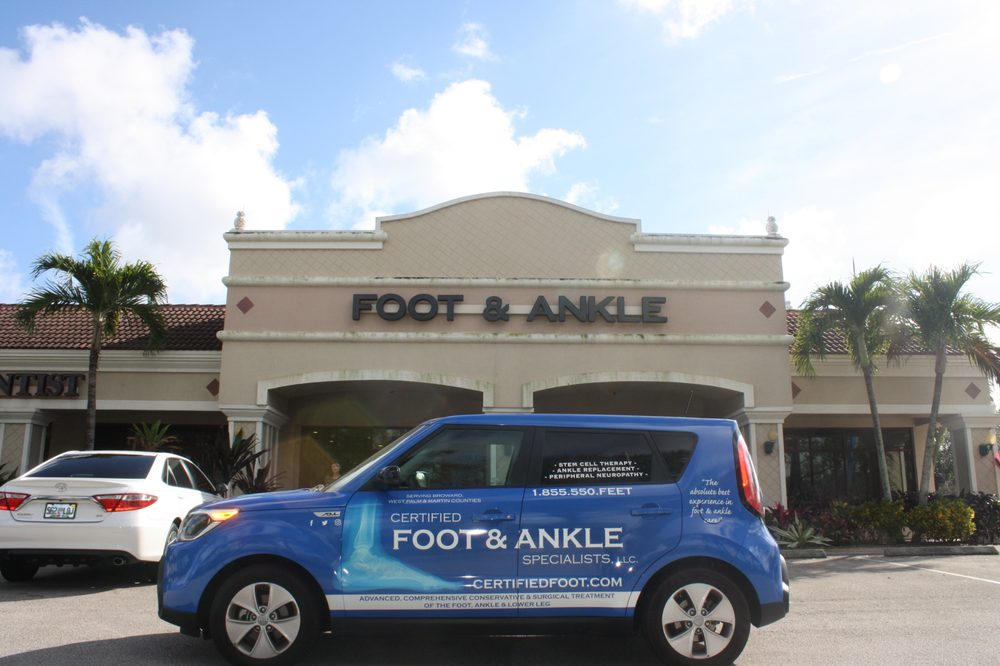 Certified foot and ankle specialists office