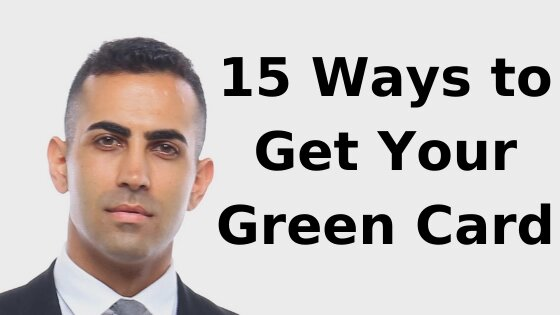 15 ways to get your green card