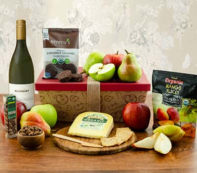 Fruit Gifts - Winebasket