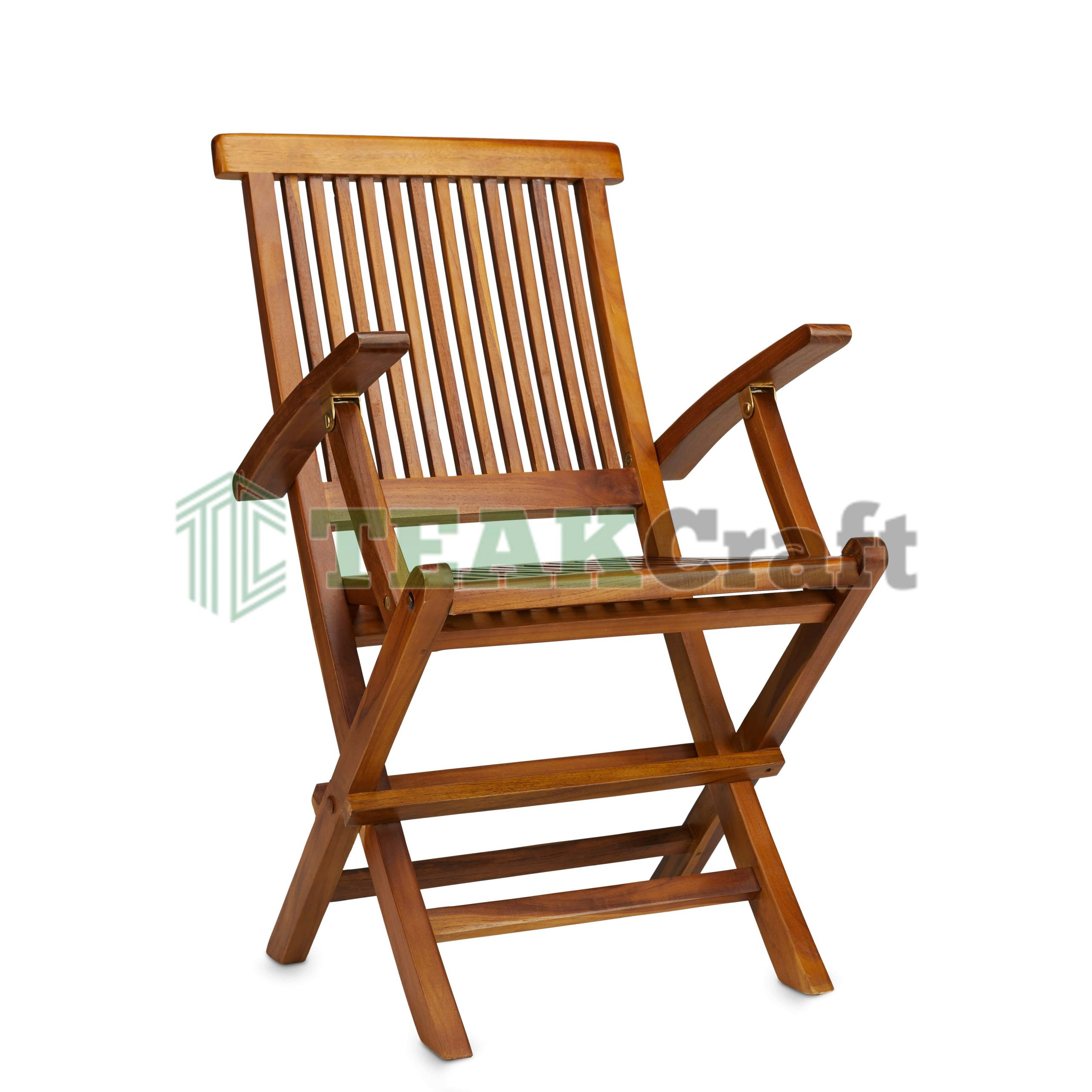 teak folding arm chairs for sale