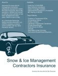 Snow Removal & Contractors Program