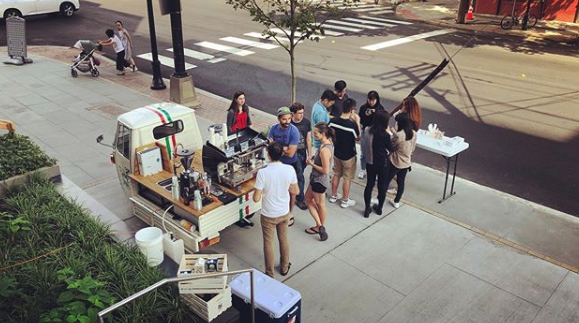 We'll come out to your event, office, or home to serve our espresso.