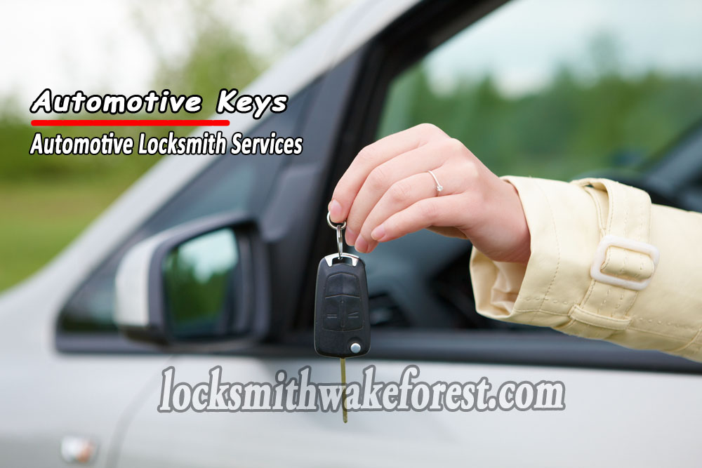 Wake-Forest-locksmith-automotive-keys