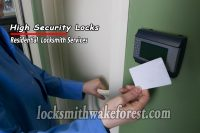 Wake-Forest-locksmith-high-security-locks