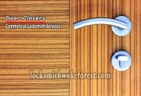 Wake-Forest-locksmith-door-closers