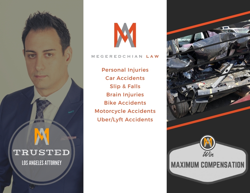 Personal Injuries Car Accidents Slip & Falls Brain Injuries Bike Accidents Motorcycle Accidents UberLyft Accidents