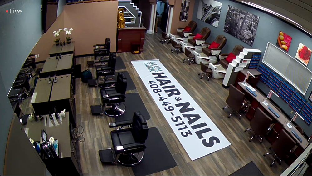 Alum Rock Hair and Nails inside