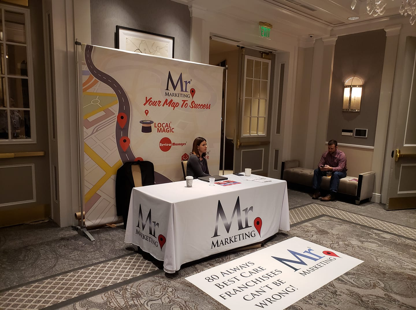 Mr. Marketing at the Always Best Care conference in New Orleans