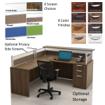 Borders-66-Inch-Wide-L-Shaped-Reception-Desk-Shown-with-Optional-Storage-and-Side-Screens-for-Privacy-Optional-Storage-and-Screens