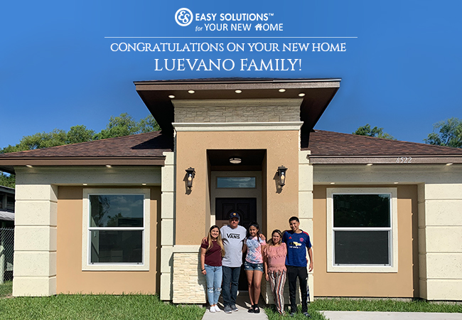 Congratulations On Your New Home Luevano Family!