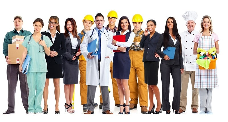 United States Business Directory Network - Image of professional service people.